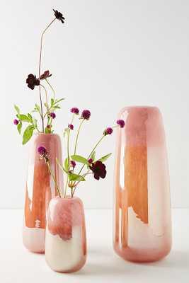 Anthropologie Soren Glass Vase, Size medium - Anthropologie