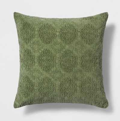 Stonewashed Chenille Throw Pillow - Threshold™ - Target