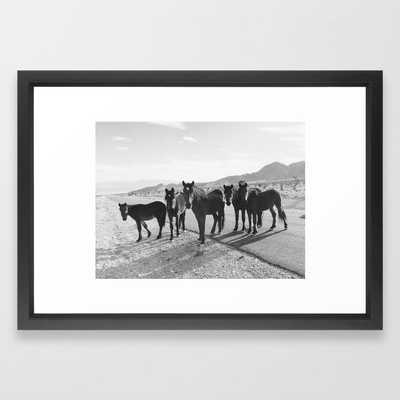 Cold Creek Horse Crew Framed Art Print - Society6