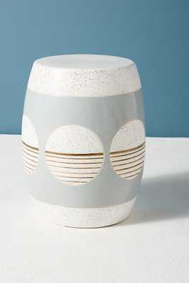 Cathy Terepocki Ceramic Stool - Anthropologie