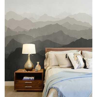Mountain Mural 5 Piece Wallpaper Panel Set - Wayfair
