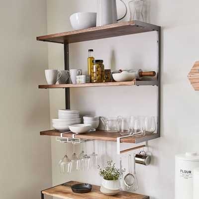 L-Beam Shelf, Short, Burnt Wax - West Elm