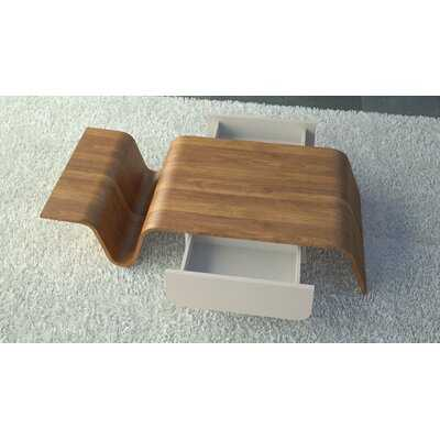 Arnau Abstract Coffee Table with Storage - Wayfair