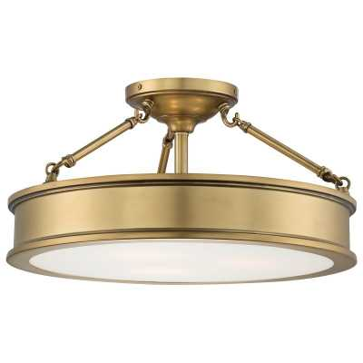 Bowers 3-Light Semi Flush Mount - Wayfair