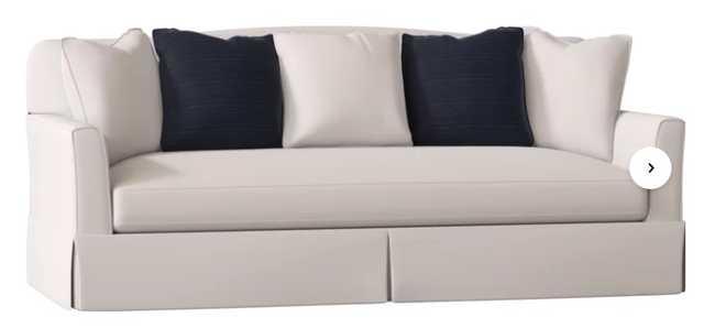 CUSTOM: Fairchild Slipcovered Sofa - Birch Lane