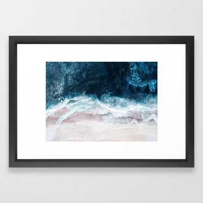 Blue Sea II Framed Art Print - Society6