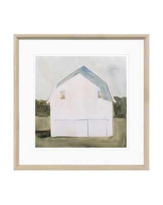 WHITE BARN Framed Art - McGee & Co.