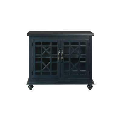 Mainor 2 Door Accent Cabinet- Catalina Blue - Wayfair