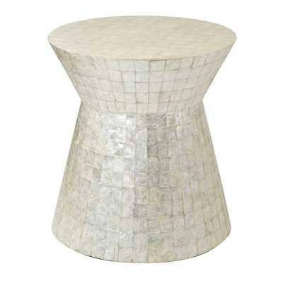 Drum End table - Wayfair