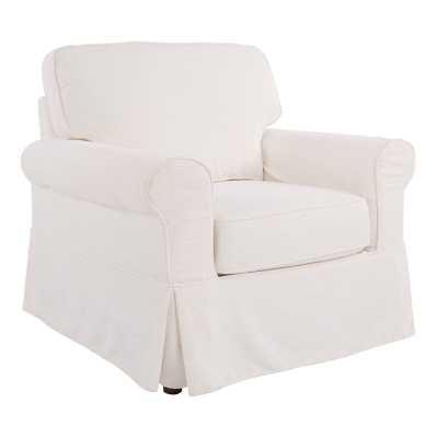 """Melorse 21.5"""" Armchair / White - Wayfair"""