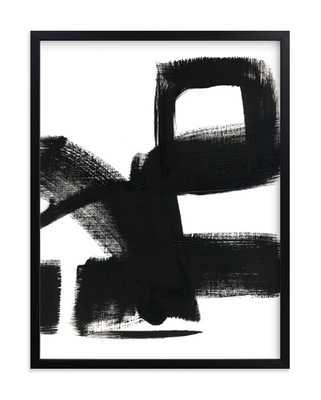 untitled 1  -20x16 - rich black wood frame - Minted