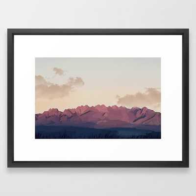 New Mexico Desert Framed Art Print - Society6