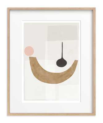 """The Balancing 1 Art Print / Matte brass / 16""""x20"""" - Minted"""