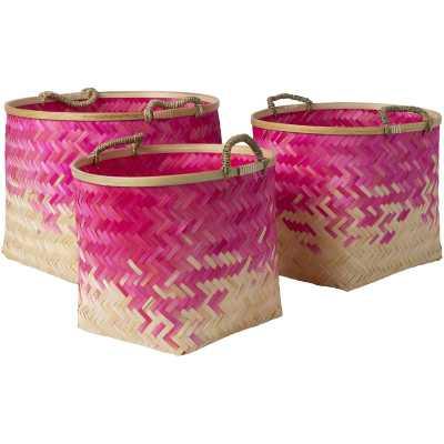 Molokai 3 Piece Decorative Basket Set - Wayfair