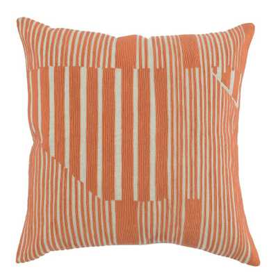Levi Orange Pillow - Perigold