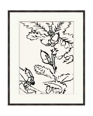 BLACK AND WHITE BOTANICAL 3 Framed Art - McGee & Co.