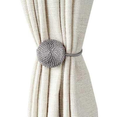 Sidra Macaron Curtain Tieback (Set of 2) - Wayfair