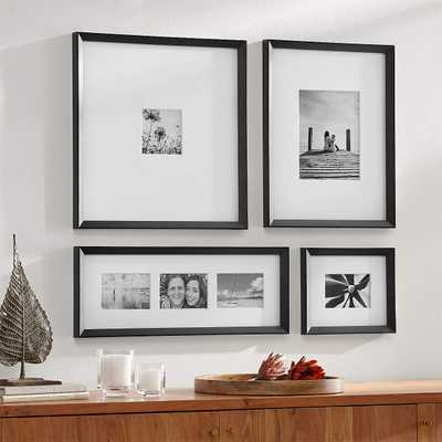 Icon Black Frame Gallery, Set of 4 - Crate and Barrel