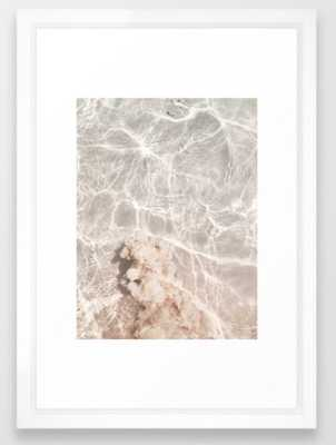 """Clearly Sea - Vector White, 15""""x21"""" - Society6"""