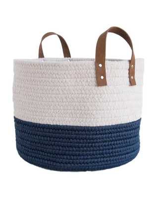 NEWPORT COLORBLOCK BASKET - McGee & Co.