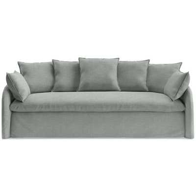 Anza Scatterback Slipcovered Sofa - Crate and Barrel