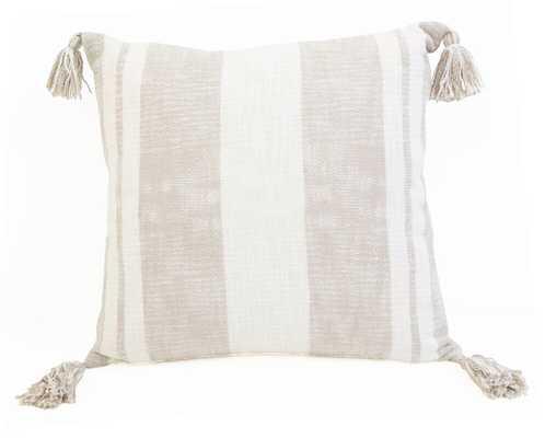 Wilcox Cotton Striped Throw Pillow - Wayfair