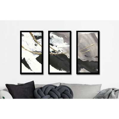 'Gilded Arcs I' Acrylic Painting Print Multi-Piece Image on Acrylic - Wayfair