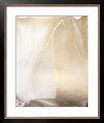 "GOLD FUSION IV-  24"" x 28"" - Frame Style: allegro bronze - art.com"