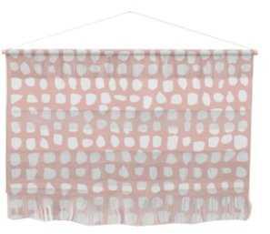 54 Dots / Pink Wall Hanging - Society6