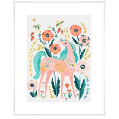 Arnulfo Sweet Unicorn Paper Print - Wayfair