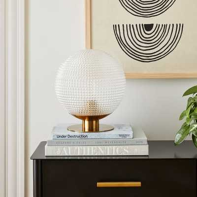 Edie Prismatic Table Lamp - West Elm