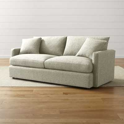 "Lounge II Petite 83"" Sofa - Taft Cement - Crate and Barrel"