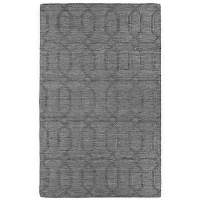 Kaleen Imprints Modern IPM03-75 Gray Area Rug - Lamps Plus