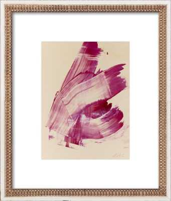 """Hot Pink Abstract - 11"""" x 14"""" - Artfully Walls"""