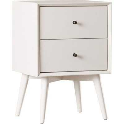 Parocela 2 Drawer Nightstand - White - Wayfair