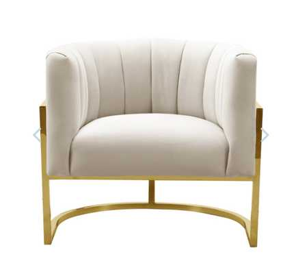 Camilo Chair, Cream - Studio Marcette