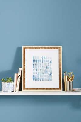 Blue Wash Blocks Wall Art - Anthropologie