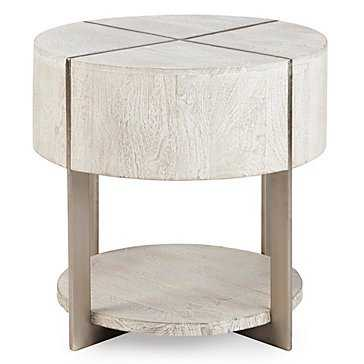 Clifton Round End Table - Z Gallerie