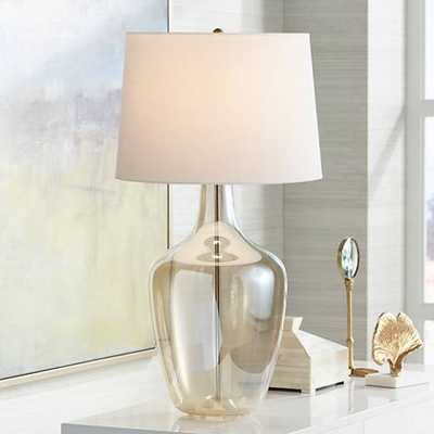 Ania Champagne Glass Jar Table Lamp - Lamps Plus