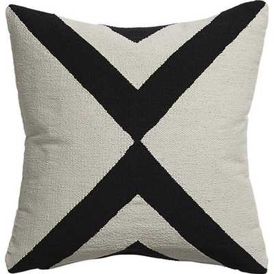 "23"" xbase pillow with down-alternative insert - CB2"
