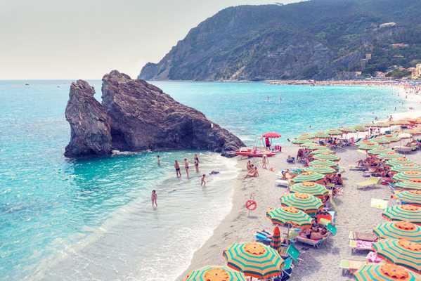 Monterosso Beach, Cinque Terre - Edition of 25 - Gray Malin