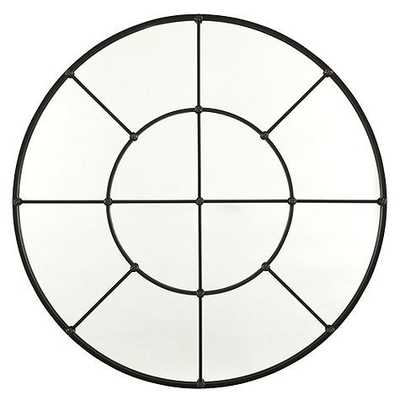 """Grand Palais Round Mirror - 36"""" - Antique Bronze - Ballard Designs"""