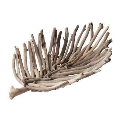 Natural Driftwood Leaf Tray - Rosen Studio