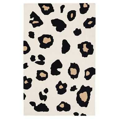 The Emily + Meritt Oversized Leopard Rug, 3x5 - Pottery Barn Teen