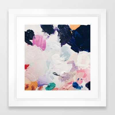 """Rue Framed Art Print - 12"""" x 12"""" - Society6"""