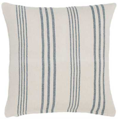 Swedish Stripe Woven Cotton Decorative Pillow - Dash and Albert
