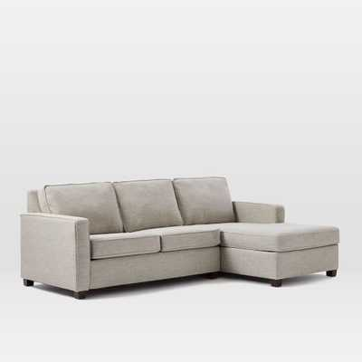 Henry® 2-Piece Chaise Sectional- Right Arm Chaise, Left Arm Loveseat - West Elm
