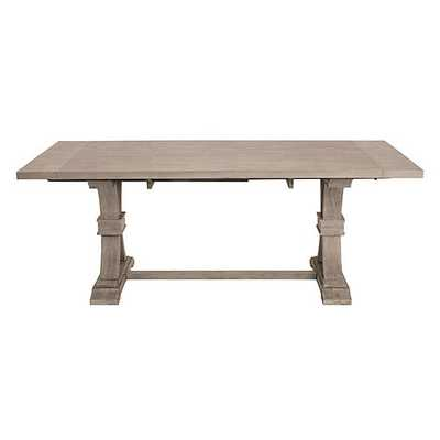 Archer Natural Grey Extending Dining Table - Z Gallerie