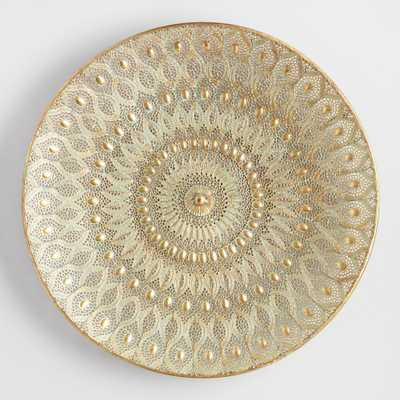 Large Gold Filigree Medallion by World Market - World Market/Cost Plus
