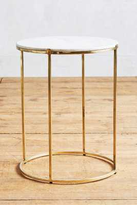 Leavenworth Marble Side Table - Anthropologie